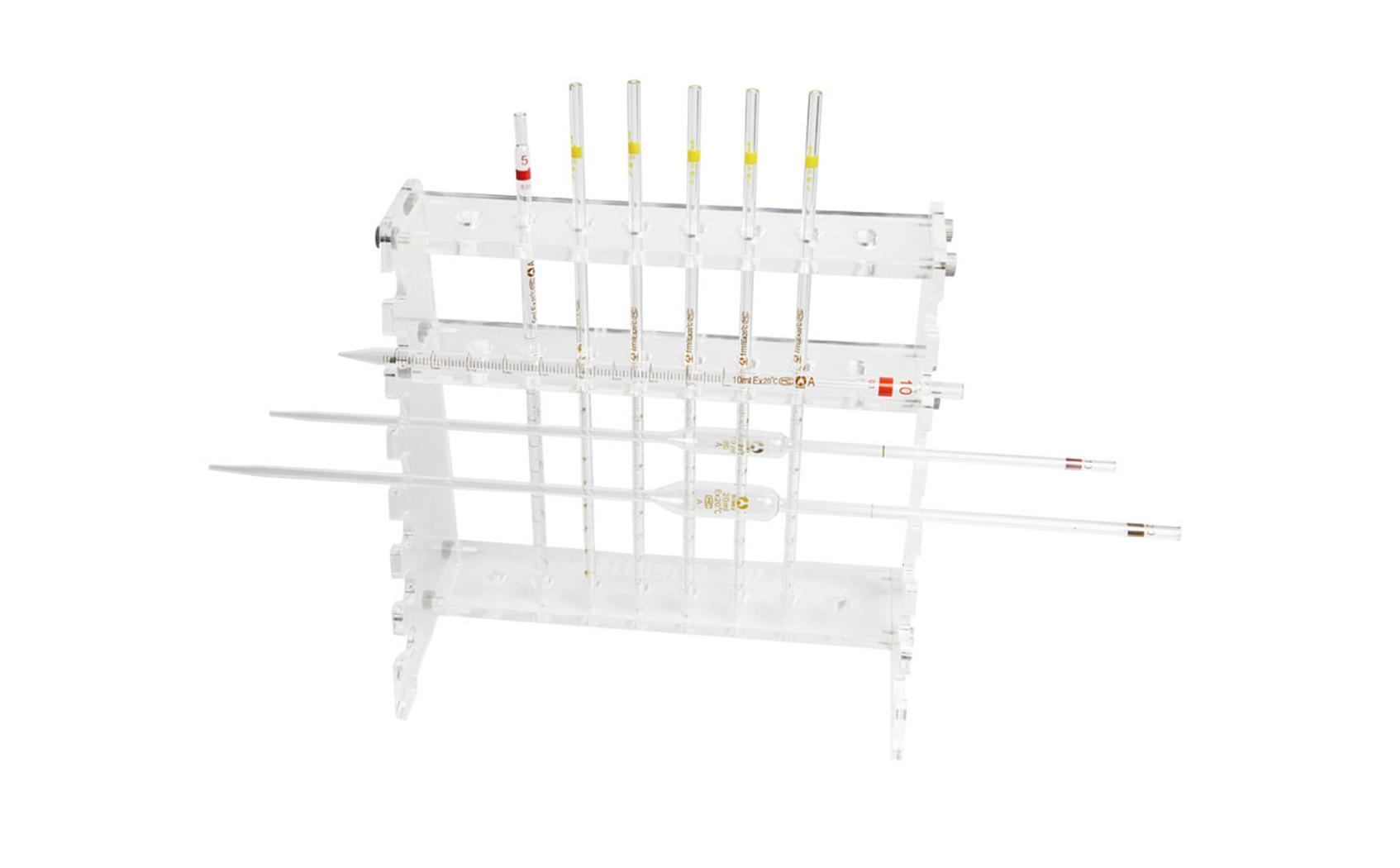 梯形移液管架